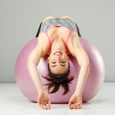Bolas de fitness e pilates