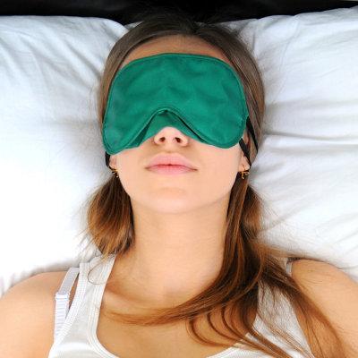 Meditação olho travesseiro