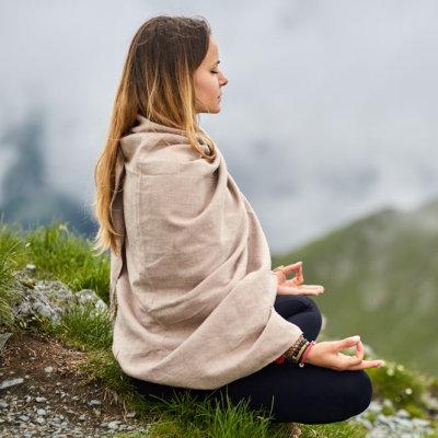 Lenços de ioga